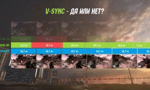 Вертикальная синхронизация V-Sync — что это, как работает и включать ли её?