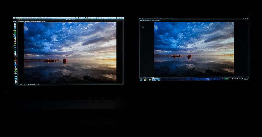 глянцевый и матовый дисплеи macbook