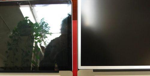 блики на экране монитора
