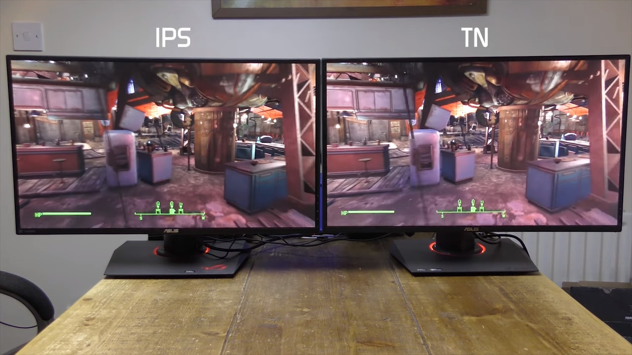 IPS и TN мониторы