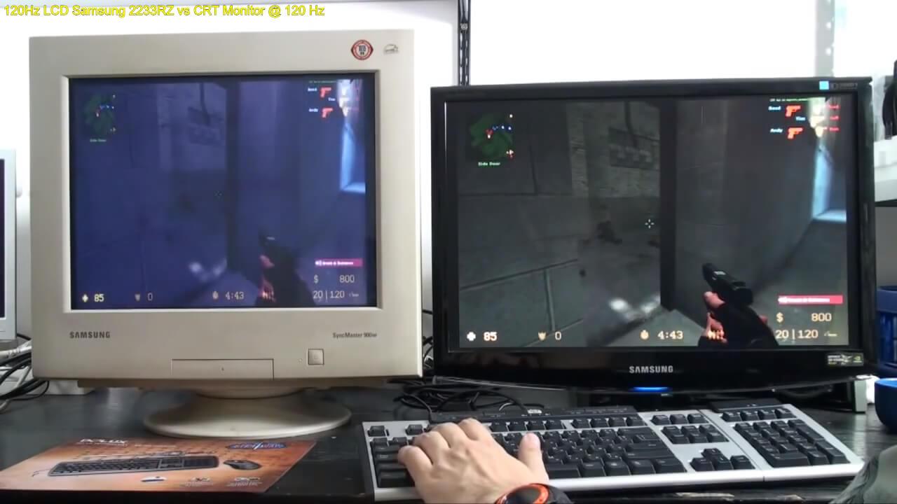 гейминг на crt мониторе