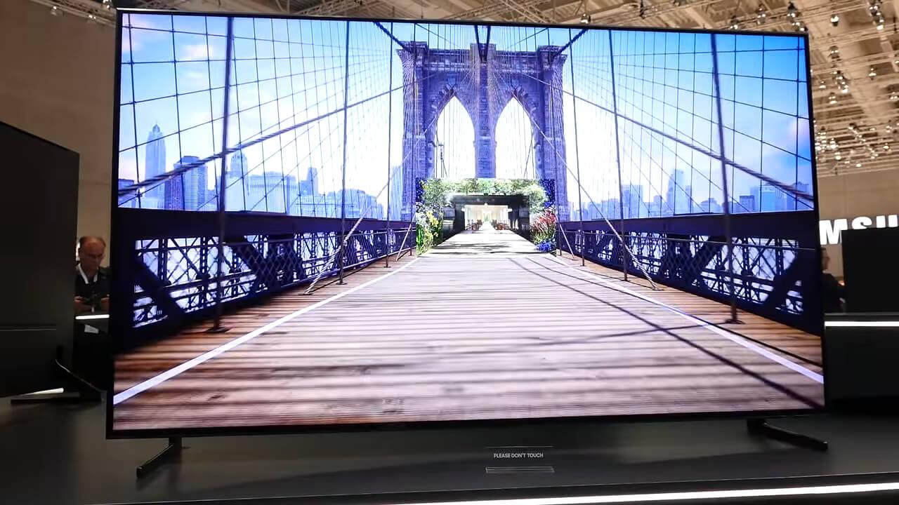 первый 8к телевизор от Samsung